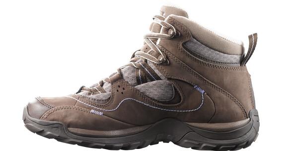 Salomon Elios Mid GTX 3 Hiking Shoes Women burro/shrew/pale lilac